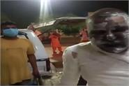 the person was burnt alive in the farmers  movement