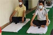 7th international yoga day celebrated in himachal