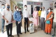 deepali chaturvedi presented 10 oxygen concentrators