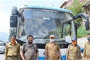 manali rohtang pass electric bus started
