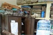 unknown thieves broke the locks of 3 rooms of hatli school