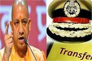administrative reshuffle in up yogi government transferred 10 ips officers