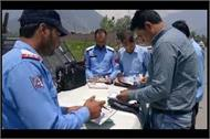 action of police against illegal parking in samba tehsil complex
