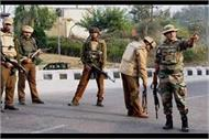 militant attack on police post pulwama