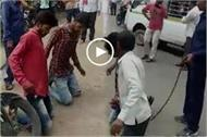 police arrest who beat policeman in indore