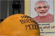 special on birthday specific things related to prime minister modi