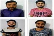 all four accused of terror funding sent on police remand