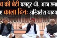 death of unnao gang rape victim akhilesh yadav sitting on dharna