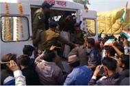 the body of shaheed ashwini reached his villag