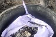 son s ashes found seasor shocked to see the video