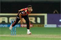टी20 विश्व कप : सनराइजर्स हैदराबाद के इस तेज गेंदबाज को मिली भारतीय टीम में जगह