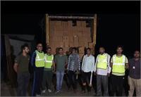 ऊना में फर्जी परमिट पर शराब सप्लाई का हुआ भंडाफोड़, ट्रक से 900 पेटी देसी शराब बरामद