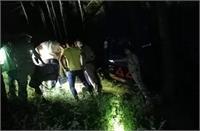 नैनीतालः अनियंत्रित होकर गहरी खाई में गिरा डंपर, चालक की दर्दनाक मौत