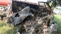 कानपुर-हामीपुर हाईवे पर भीषण हादसा, दो ट्रकों की सीधी टक्कर से लगी आग, 3 लोगों की जिंदा जलकर मौत