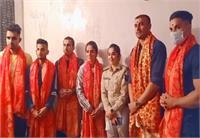 प्रो कबड्डी शुरु होने से पहले पदमश्री अजय ठाकुर ने किया नवरात्र पूजन