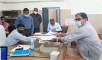 ऐलनाबाद उपचुनाव: इनेलो प्रत्याशी अभय चौटाला ने भरा नामांकन पत्र, चौथी बार जीत का किया दावा