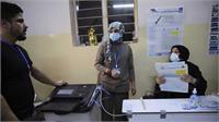 इराक में कड़ी सुरक्षा व्यवस्था के बीच आम चुनाव के लिए मतदान