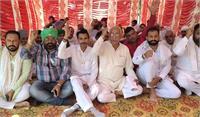 करनाल में किसानों ने किया प्रदर्शन, अजय मिश्रा की बर्खास्तगी और गिरफ्तार करने की मांग