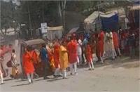 छत्तीसगढ़ में दोहराया गया लखीमपुर, सैकड़ों की भीड़ को रौंदते हुए निकल गई गाड़ी