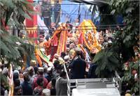 दशहरा उत्सव में तीसरी बार काहिका उत्सव का आयोजन, पश्चाताप के लिए देवी-देवताओं ने किया काहिका