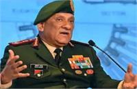 प्रमुख रक्षा अध्यक्ष बिपिन रावत बोले, सशस्त्र बलों को उत्पाद मुहैया कराने की दिशा में काम करें निजी उद्योग