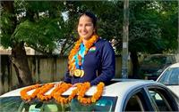 हरियाणा: डीएसपी नरेंद्र सांगवान की बेटी ने दक्षिण अमेरिका में लहराया परचम, जीते 4 गोल्ड