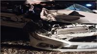 मथुरा: यमुना एक्सप्रेस-वे पर डिवाइडर से टकराकर पलटी बेकाबू कार, 2 युवकों की मौके पर दर्दनाक मौत