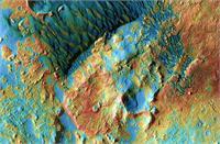 नासा ने दुनिया को बताया कितना खूबसूरत है मंगल ग्रह, जारी की नीले रंग के बर्फीले टीलों की तस्वीर