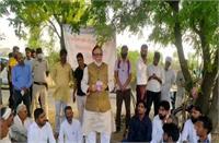 गुंगी-बहरी भाजपा सरकार को सुनाई नहीं देती जनता की आवाज : कै. अजय सिंह
