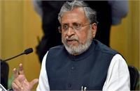 सुशील ने फोन टैपिंग के आरोप को बताया निराधार, कहा- यह लोकतंत्र को बदनाम करने की साजिश