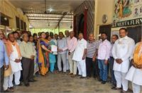 निमिशा मेहता ने श्री कृष्ण गौशाला को भेंट किया सवा तीन लाख रुपए का चैक