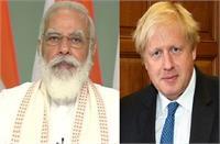 ब्रिटेन के प्रधानमंत्री बोरिस जॉनसन के साथ 4 मई को वर्चुअल समिट करेंगे पीएम मोदी