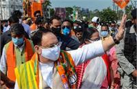 बंगाल में TMC का तांडव: आज कोलकाता जाएंगे जे पी नड्डा, भाजपा कल देगी देश भर में धरना