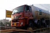 कोरोना से जंग: छह टैंकरों के साथ तीसरी 'ऑक्सीजन एक्सप्रेस' ट्रेन पहुंची फरीदाबाद