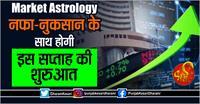 Market Astrology- नफा-नुकसान के साथ होगी इस सप्ताह की शुरुआत