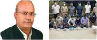 रेमडेसिविर के ब्लैक मार्केटिंग में पकड़ा गया युवक निकला सपा के पूर्व मंत्री शाहिद मंजूर का भतीजा