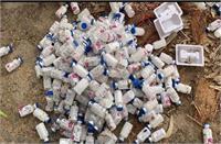 भाखड़ा नहर से मिले रेमडेसिविर और सैफोपैराजोन के भारी संख्या में टीके, मचा हड़कंप