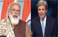 जलवायु परिवर्तन: अमेरिका ने मोदी के लक्ष्य के मद्देनजर की भारत के साथ साझेदारी: केरी