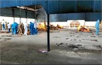 कोरोना: श्मशान घाट पर खौफनाक मंजर, रोजाना 30 शवों का हो रहा अंतिम संस्कार