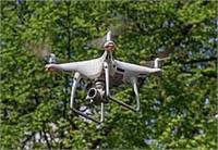 कोटला में ड्रोन से रखी जा रही नजर