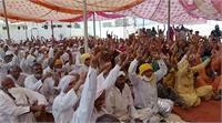किसानों ने बीजेपी-जेजेपी नेताओं के प्रवेश को रोकने के लिए पूरी तरह से किलेबंदी की, 10 गांव चिन्हित