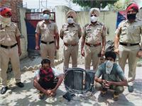 मकसूदा पुलिस ने बैटरी चोरों को पकड़ा, कुछ ही देर में किया जाएगा अदालत में पेश
