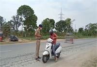 नूरपुर में कोरोना कर्फ्यू का रहा असर, कंडवाल बैरियर पर बढ़ाई सख्ती