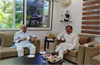 पूर्व मंत्री जयंत मलैया ने की प्रदेश अध्यक्ष बीडी शर्मा से मुलाकात, दमोह हार पर की चर्चा