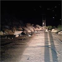 चंडीगढ़-मनाली एनएच पर भूस्खलन, यातायात के लिए अवरुद्ध