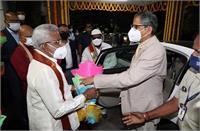 CJI एनवी रमण ने तिरुपति में भगवान वेंकटेश्वर के मंदिर में की पूजा अर्चना