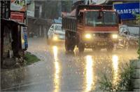 हिमाचल में जमकर बरसे मेघ, पालमपुर में सबसे अधिक 78 मिलीमीटर बारिश दर्ज