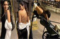 ब्लैक ड्रेस में अर्जुन रामपाल की गर्लफ्रेंड गैब्रिएला ने बिखेरा जलवा, बुडापेस्ट की सड़कों पर बेटे को घुमाती आई नजर