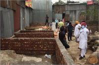 सिविल डिस्पेंसरी भोगपुर में खोखों की एक्सटेंशन के मामले में बी.डी.पी.ओ. तब्दील
