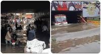 पहली बारिश में ही दरिया बनी डिप्टी CM मौर्य और 2 कैबिनेट मंत्रियों के शहर प्रयागराज की सड़कें